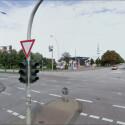 Der Millerntorplatz in Hamburg. Hier findet mehrmals im Jahr das Volksfest Dom statt. An der Ampelkreuzung ist davon noch nix zu sehen... (Bild: Screenshot)