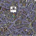 Google wirbt damit, dass sich die Nutzer bei Street View auch Sehenswürdigkeiten anschauen können. Auf dem Marienplatz in München konnte das Street View Auto allerdings nicht fahren, somit bleiben hier nur Bilder von Panaramio. (Bild: Screenshot)