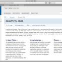 """RDF ist ein bedeutender Bestandteil der Initiative zum """"Semantic Web"""" des W3C."""