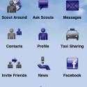 Dafür spendiert der Kranich für sein Vielfliegerprogramm eine App mit sozialen Funktionen. (Bild: Apple Inc.)