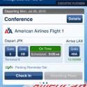 Der Flagcarrier American Airlines gibt ein ähnlich solides Bild ab. (Bild: Apple Inc.)