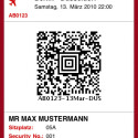 Die deutsche Fluglinie Air Berlin bietet - anders als die Lufthansa - ebenfalls eine In-App-Bordkarte. (Bild: Apple Inc.)