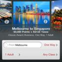 Dafür werden mögliche Reiseziele schick in einer Cover-Flow-Ansicht dargestellt. (Bild: Apple Inc.)
