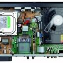 Reichlich Platz bietet die 500 GB Festplatte. (Bild: netzwelt.de)