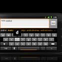 Unter Android 2.3 wurde die virtuelle Tastatur verbessert. (Bild: Google)