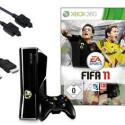 Microsofts Xbox 360 gibt es in der 4 Gigabyte Version zusammen mit einem aktuellen Spiel für derzeit knapp 200 Euro. (Bild: Otto.de)