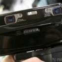 Fotoapparat mit zwei Linsen für 3D-Fotos.