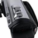 Zoomwippe, Aufnahmeknopf und weitere Bedienelemente.