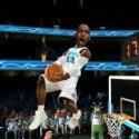 """Sieht aus wie """"South Park"""": Bei """"NBA Jam"""" wurden die animierten Porträtbilder der Basketball-Stars einfach auf einen Computerleib geklebt. (Bild: EA)"""