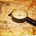 """Damit der """"Landbiker"""" nicht mehr auf seinen Kompass angewiesen ist, gewinnt er das Navi von Becker."""