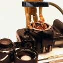 """In der analogen Canon EOS 500 hat sich wohl der Shutter Bug eingeschlichen. Jetzt kann sich """"Mactron"""" über ein DVB-T-Empfangsset von AverMedia und die OptimalDiskPro Software freuen."""