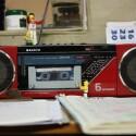 """Diese alte Boombox von Sanyo hat wohl auch schon einige Jahre hinter sich. Auch """"Lacos"""" hat sich mit seinem Foto ein IT-Sofort-Service-Paket der Telekom verdient."""