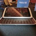 Auf einer Nebenveranstaltung der CES hatte netzwelt die Möglichkeit, das Nokia E7 zu eine Weile zu testen. (Bild: netzwelt)