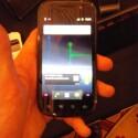 Der futuristische Startschirm des Nexus S. (Bild: netzwelt)