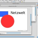 Sowohl Pixel- als auch Vektorgrafiken, z.B. für geometrischen Formen, lassen sich in Director nutzen. (Bild: Netzwelt)