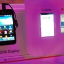 Das Nova-Display im direkten Vergleich mit der Konkurrenz von Samsung und Apple. (Bild: netzwelt)