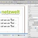 Die Eigenschaften von Objekten werden über ein separates Fenster geändert, das Nutzer über das Kontextmenü anzeigen lassen können. (Bild: Netzwelt)