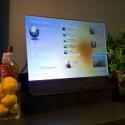 Touchscreens, die wichtige Informationen für den Haushalt bereit halten, spielen im Konzept eine gewichtige Rolle. (Bild: Microsoft)