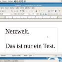 OpenOffice.org ist in einer (etwas angestaubten) Version auch enthalten. (Bild: Netzwelt)