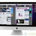 Mac-Anwender haben am All-in-One-Rechner iMac ihre Freude. Das günstigste 21,5 Zoll-Modell ist für 1.200 Euro erhältlich. (Bild: netzwelt)