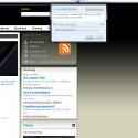 Über den Share-Button kann der Nutzer direkt Webseiten bei Twitter oder Facebook seinen Freunden zeigen. (Bild: Screenshot)