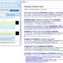 Am linken Bildschirmrand sind alle Facebook-Freunde zu sehen, die online sind. Per Mausklick kann ein Chat gestartet werden. (Bild: Screenshot)