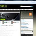 Ohne Facebook-Zugang ist RockMelt ein Browser wie jeder andere auch. (Bild: Screenshot)