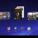Insgesamt stehen fünf Startbildschirme zur Verfügung. (Bild: Screenshot)