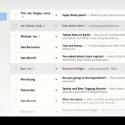 An Hand der neuen Gmail-App zeigt Google das Apps nun in Bereiche aufgeteilt sind. (Bild: Screenshot)