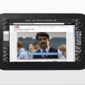 Passend zum Gesamtbild: Eines der wenigen erhältlichen MeeGo-Geräte ist der deutsche Tablet-Computer WeTab, dessen Marktstart gründlich misslang. (Bild: Neofonie GmbH)