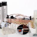 Zur Verlegung von Flatwire benötigt der Anwender neben dem Kabel auch Haftspray, maschiges Deckmaterial und besondere Kabel-Anschlüsse. (Bild: Flatwire)