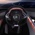 """Der Bereich """"Sicherheit"""" wir mit roten Lichtbahnen symbolisiert und betrifft vor allem den Fahrer. (Bild: BMW)"""