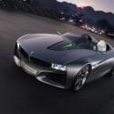 Die grünen Lichter stehen für den Komfort und die Kommunikation zwischen Fahrzeug und Umgebung. (Bild: BMW)