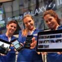 Neben dem Galaxy S2 zeigt Samsung auch einen Nachfolger zum Tablet-Computer Galaxy Tab. (Bild: Samsunghub)