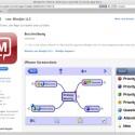 Mindjet bietet auch eine günstige App für iPhone und iPad an. (Bild: Netzwelt)
