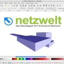Das Hauptfenster des Programms Inkscape präsentiert sich sehr aufgeräumt. (Bild: Netzwelt)