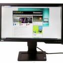 23,6 Zoll großer Monitor mit 120 Hertz und somit 3D geeignet.