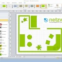 Mit Farbschemata ist eine einheitliche Gestaltung eines Visio-Dokumente möglich. (Bild: Netzwelt)