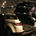 Land Rover präsentiert den Range Rover Evoque auf der CeBIT in Hannover. (Bild: netzwelt.de)