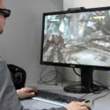 27 Zoll großer Bildschirm mit 120-Hertz-Bildwiederholrate eignet sich für 3D Vision von Nvidia.