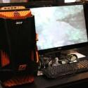 Im E-Sport-Bereich hat Acer seinen 3D-fähigen Gaming-Monitor aufgebaut, der 3D Vision von Nvidia nutzt.