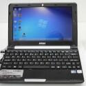 MSI Wind U160 MX - MSI verwendet wie bei diesem Netbook auch weiterhin Hardware von Intel.