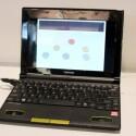 Toshiba NB5500 - AMD Brazos und sonst klassische Netbook-Hardware: 1 Gigabyte RAM, 250 Gigabyte Festplatte und ein zehn Zoll großer Bildschirm.