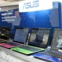 Asus K-Serie - Drei der fünf Farben sollen auch in Deutschland erhältlich sein. Das Aluminium-Gehäuse soll auch bei hart arbeitender Hardware kühl bleiben.