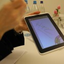 Via Kontextmenü kann der Nutzer Strichstärke und Art des Stiftes ändern. (Bild: netzwelt)