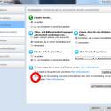 Über die Option kann der Nutzer zudem Skype verbieten, die Nutzerdaten für personalisierte Werbung weiter zu geben. Hierzu muss der Nutzer auf Aktionen in der Programmleiste klicken, Optionen aus dem erscheinenden Menü wählen und unter Privatssphäre den im Bild rot markierten Haken entfernen. (Bild: Screenshot)
