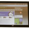 Ins Internet gelangt das Tablet per WLAN - ein UMTS-Modul ist nicht vorhanden.