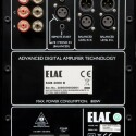 Bemerkenswert: Der Elac-Subwoofer Sub 2080 D besitzt sogar symmetrische Anschlüsse. (Bild: netzwelt.de)