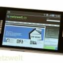 Leider kann das Smartphone trotz Froyo keine Flash-Inhalte im Browser wiedergeben. (Bild: netzwelt)