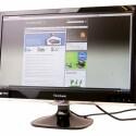 23,6 Zoll großer Monitor mit Full-HD-Auflösung und LED-Hintergrundbeleuchtung.